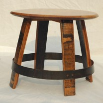 Ring Wine Barrel Table by The Oak Barrel Company
