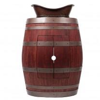 Wine Barrel Vanity Package with Bath Tub Vessel Sink
