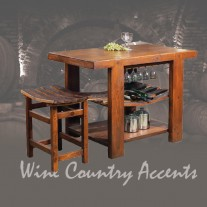 WV105 Russian River Kitchen Island 2 Day Designs
