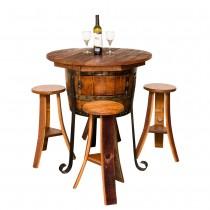 Old World Table Cabinet Set Napa East
