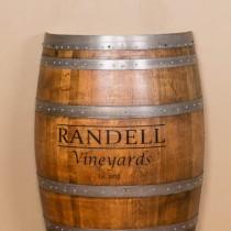 Personalized Half Barrel Napa East