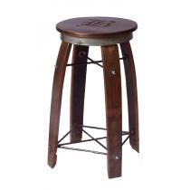 Daisy 2-Day Designs Wine Barrel Stave Bar Stool