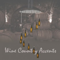 99822 Wine Bottle Mini Pendant