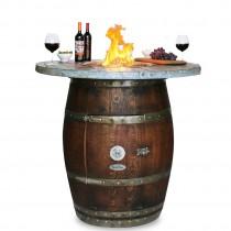 Grand Wine Barrel WOOD STAVE TOP
