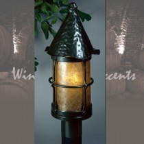 LF301-Q-BZ Large Bronzed Cottage Post
