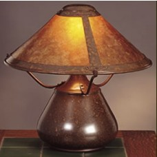 Mica Lamp Company 007 Beanpot Table Lamp