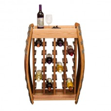 24 Bottle Narrow Wine Rack Napa East