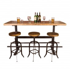 Industrial Iron Beam Bar Napa East Collection