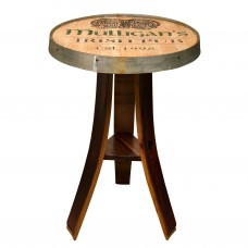 Personalized Irish Pub Table Napa East Collection