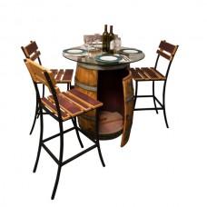 Sonoma Wine Barrel Outdoor Patio Set Napa East Collection