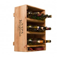 Wine Crate 12 Bottle Wine Rack Napa East