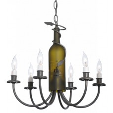 112640 Wine Bottle Chandelier