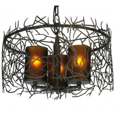 "Meyda Lighting 135707 14""W Twigs Pendant"