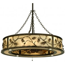 "136747 44.5""W Oak Leaf & Acorn Chandel-Air"