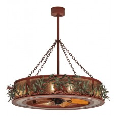"Chandel-Air 50""W Northwoods Pine Branch Down lights 142069"