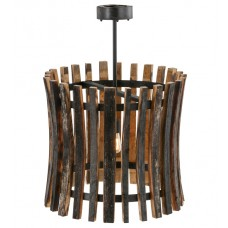 157547 Barrel Stave Madera Pendant