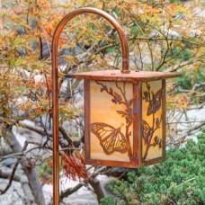 1732-GL1-BF Butterfly Mini Garden Lantern