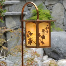 English Ivy Garden Landscape Lighting