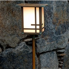 Geometric Design Landscape Lighting