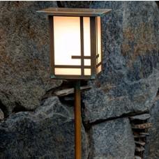 Geometric Design Landscape Lighting
