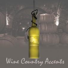 32702-WB Tuscan Wine Bottle Mini Pendant