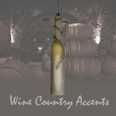71121 Tuscan Wine Bottle Mini Pendant Meyda Tiffany