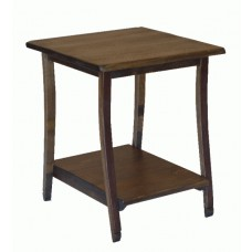 Stave Rustic End Table Table 2-day designs