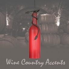 65453 Tuscan Wine Bottle Mini Pendant