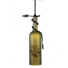"65761 Meyda 3""W Wine Bottle Pendant"