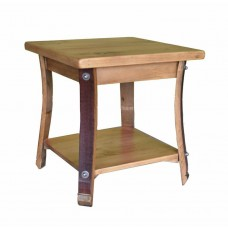 Square Stave Leg End Table 2-day designs