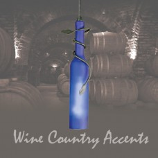 71123 Tuscan Wine Bottle Mini Pendant
