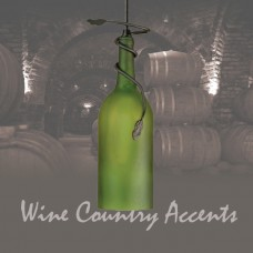 71191 Tuscan Wine Bottle Mini Pendant Meyda Tiffany