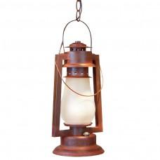 Pioneer Chain Mount Rustic Lantern
