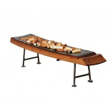 810M Wine Stave Half Server Tray 2 Day Designs