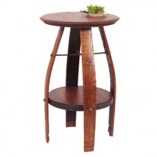 819T-Bistro Wine Barrel Table
