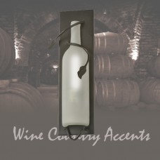99374 Tuscan Wine Bottle Wall Sconce