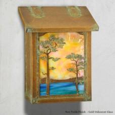 Monterey Pine Vertical Design America's Finest Mailboxes