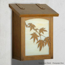 Japanese Maple Vertical Design America's Finest Mailboxes
