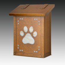 Dog Paw Vertical Design America's Finest Mailboxes