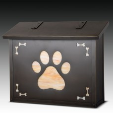 Dog Paw Large Design America's Finest Mailboxes