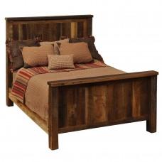 Barnwood Traditional Bed