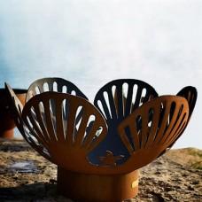 Barefoot Beach Fire Pit Art