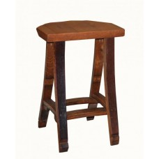 2 Day Designs Barrel Head Bar Stool