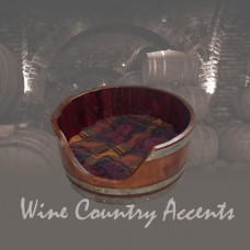 Wine Barrel Dog Bed by Wine Barrel Creations