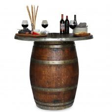 Vin De Flame SOLID TOP Grand Barrel Table