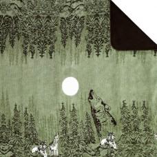 Howling Wolves Blanket