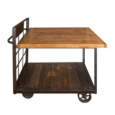 Industrial Cart Pub Table Napa East