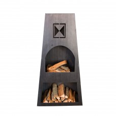 Fire Knight Steel Outdoor Fireplace