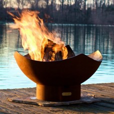 Manta Outdoor Fire Pit Art