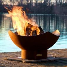 Manta Outdoor Fire Pit Art